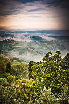Photograph - Tuscan View by Silvia Ganora