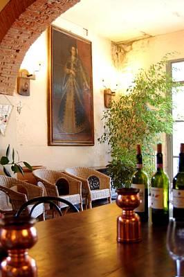 Tuscan Villa Still Life Original by Sharon Blanchard