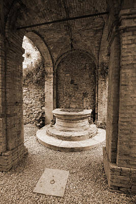 Photograph - Tuscan Well by Donna Corless