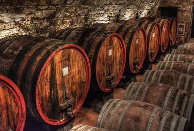 Photograph - Tuscan Wine Cellar by Michael Kirk