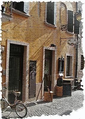 Tuscany 2 Art Print by Rebecca Cozart