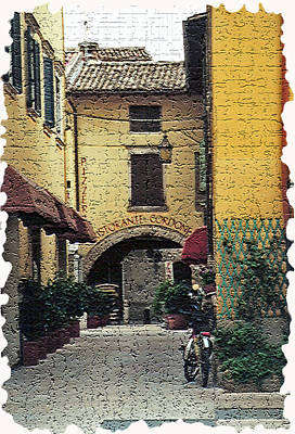 Winery Photograph - Tuscany 3 by Rebecca Cozart