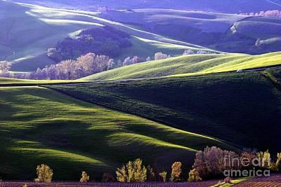 Tuscany Hills Art Print by Arie Arik Chen