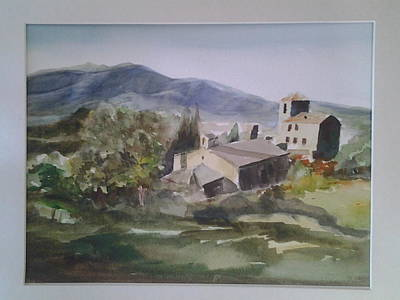 Painting - Tuscany Hillside7 by Tom Steiner