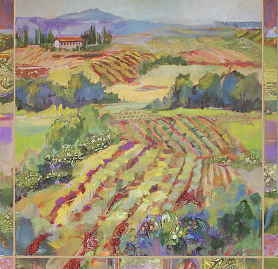 Painting - Tuscany Hilltop by Marty Husted