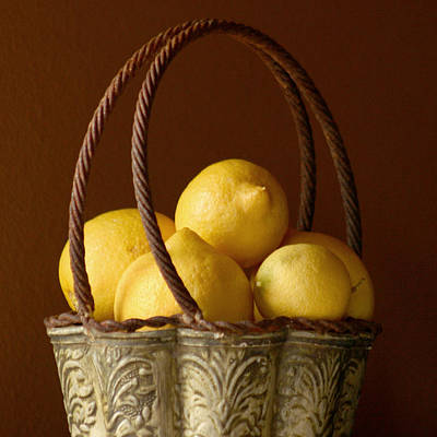 Sour Photograph - Tuscany Lemons by Art Block Collections