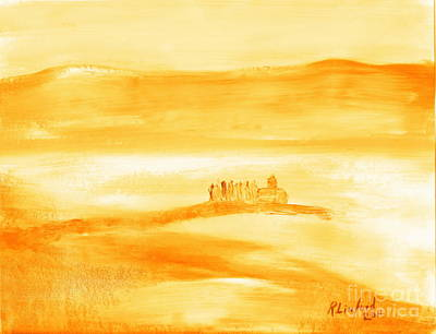Painting - Tuscany Mist 2 by Richard W Linford