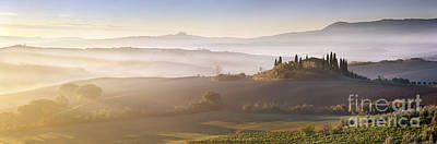 World Heritage Sites Photograph - Tuscany by Rod McLean