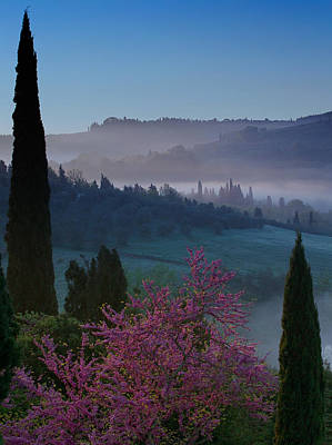 Antique Maps - Tuscany Sunrise by Blake Desaulniers