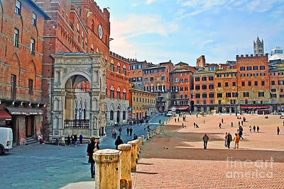 Photograph - Tuscany Town Center by Elvis Vaughn