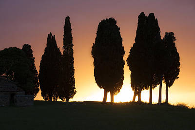 Tuscany- Val D'orcia Art Print