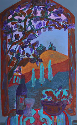 Painting - Tuscany Vii  by Oscar Penalber