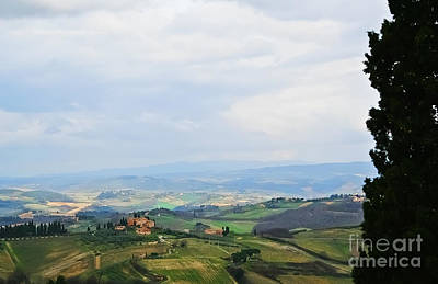 Photograph - Tuscany's Special Light by Elvis Vaughn
