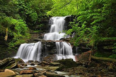 Photograph - Tuscarora Falls by Mike Farslow