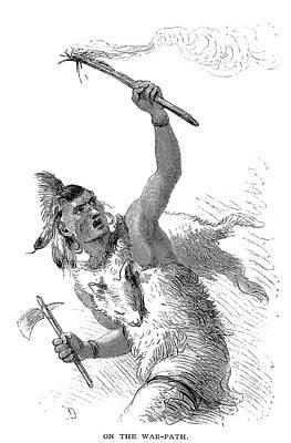 Tuscarora Warrior Print by Granger
