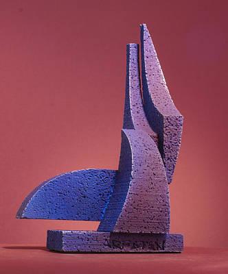 Sculpture - Tusk Tusk by Richard Arfsten