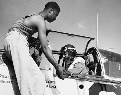 Photograph - Tuskegee Airmen, C1943 by Granger