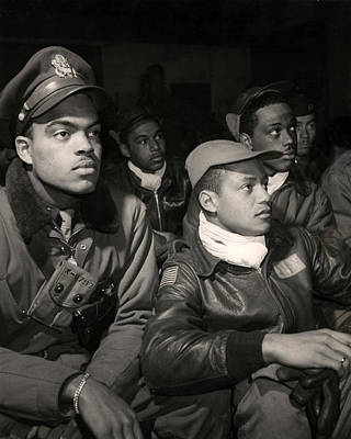 Mitchell Photograph - Tuskegee Airmen by Retro Images Archive