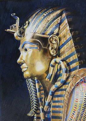 Tutankhamon Print by Constance Drescher