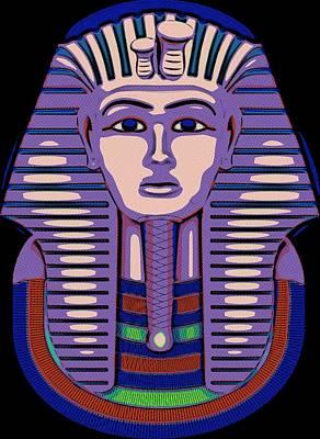 Painting - Tutankhamun The Great by Florian Rodarte