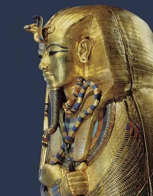 Tutankhamuns Second Sarcophagus. 1333 Art Print by Everett