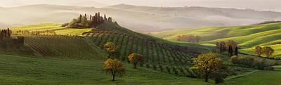 Tuscany Italy Photograph - Tutte Le Strade Portano A Belvedere by Margarita Chernilova