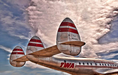 Photograph - TWA by Maria Coulson