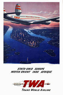 Twa To Africa Art Print