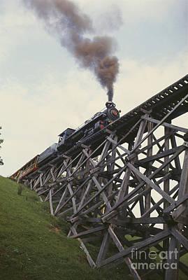 Tweetsie Railroad, North Carolina Art Print by Bruce Roberts