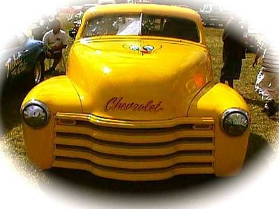 Photograph - Tweety Bird Chevrolet Pickup Truck by Amazing Photographs AKA Christian Wilson