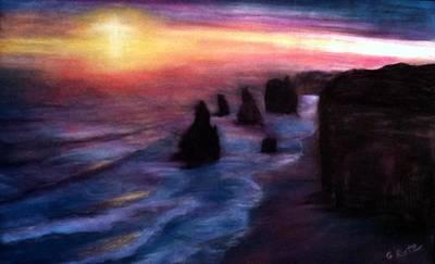 Pastel - Twelve Apostles by Gail Kirtz