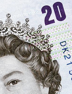 Sterling Photograph - Twenty Money by Daniel Hagerman