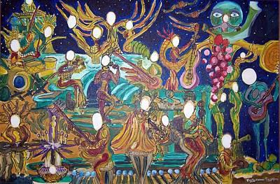 Western Art - Twenty-Three Lights Two by Timothy  Foley