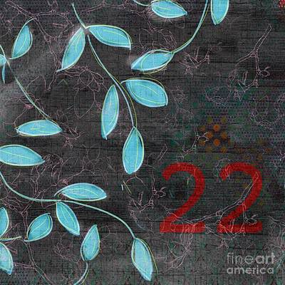 Twenty-two - 19n Art Print by Variance Collections