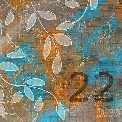 Twenty-two - Sp1251 Art Print by Variance Collections