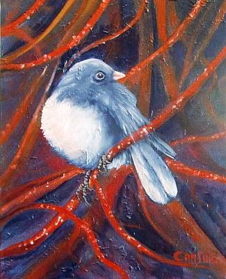 Painting - Twitters And Twigs by Carol Allen Anfinsen