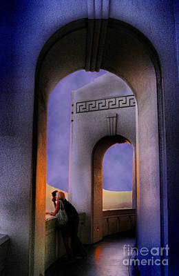 Twilight Arches Art Print