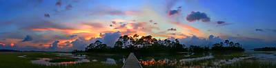 David Kennedy Photograph - Twilight At Hunting Island by David Kennedy