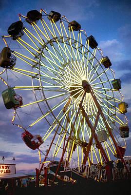 Elmira Ny Photograph - Twilight At The Fair by William McEvoy