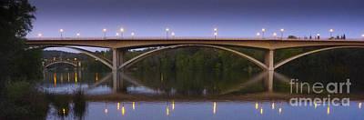 Movies Star Paintings - Twilight Bridges by Cheryl Wood