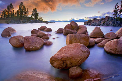Sandy Cove Photograph - Twilight Cove - Craigbill.com - Open Edition by Craig Bill