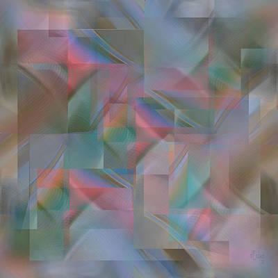 Digital Art - Twilight - Digital Abstract by rd Erickson