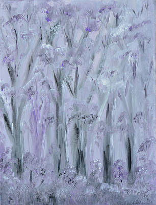 Painting - Twilight Forest by Donna Blackhall