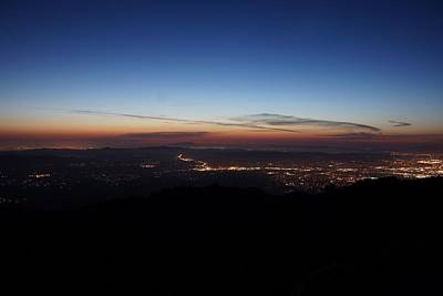 Photograph - Twilight From The Top by Michael Courtney