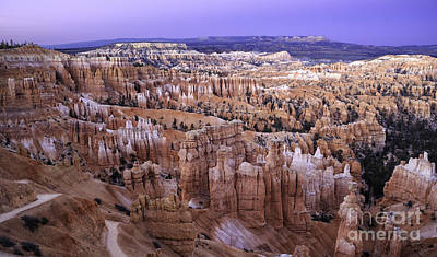 Photograph - Twilight In Bryce Canyon by Stuart Gordon