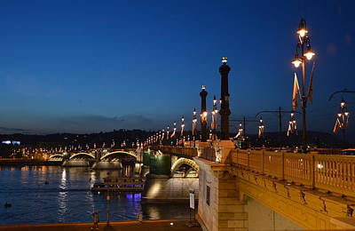 Photograph - Twilight In Budapest by Steven Liveoak