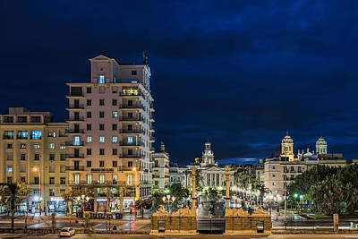Photograph - Twilight In Cadiz by Maria Coulson