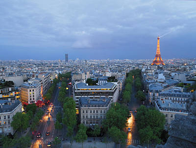 Photograph - Twilight In Paris by Heidi Hermes