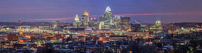 Photograph - Twilight In The City by Keith Allen