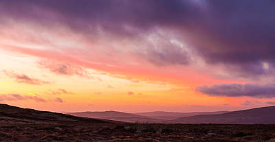 Photograph - Twilight In The Wicklow Mountains by Semmick Photo